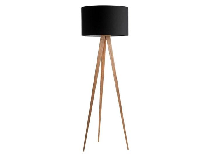 TREE-Lampa podłogowa Trójnóg Metal & Tkanina Wys.160cm