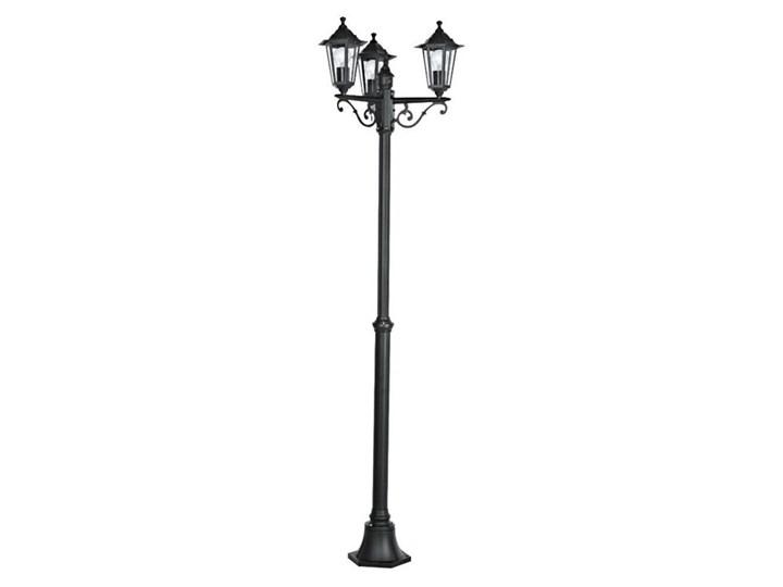LATERNA-Lampa podłogowa zewnętrzna 3-punktowa Aluminium Wys.192cm