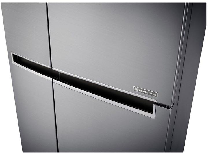 Lodówka LG GSB760PZXZ Side by side Nofrost Dwudrzwiowe Kategoria Lodówki Wysokość 179 cm Szerokość 91,2 cm Kolor Szary