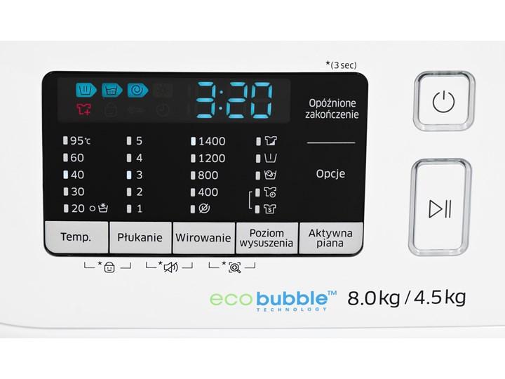 Pralko-suszarka SAMSUNG WD80K5A10OW/EO Add Wash