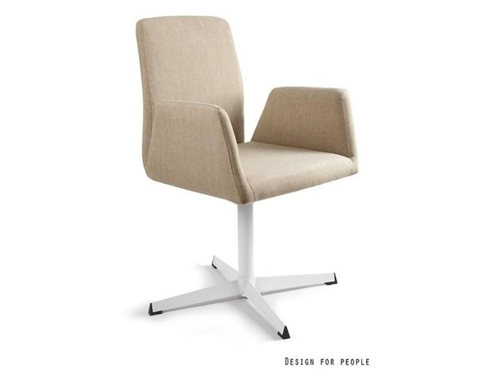 Fotel biurowy tapicerowany Brava kolor Fotel konferencyjny Wysokość 88 cm Tkanina Pomieszczenie Biuro i pracownia
