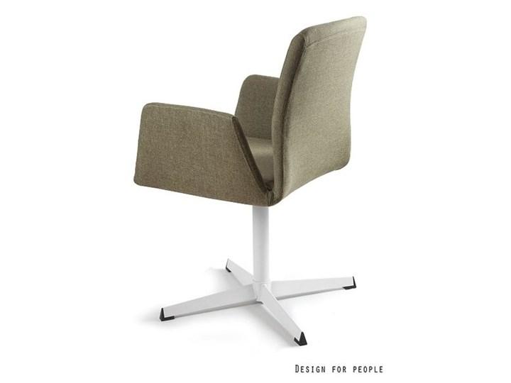 Fotel biurowy tapicerowany Brava kolor Fotel konferencyjny Wysokość 88 cm Tkanina Kategoria Fotele do salonu