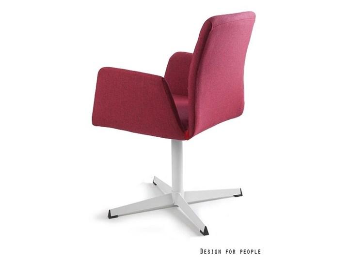 Fotel biurowy tapicerowany Brava kolor Fotel konferencyjny Wysokość 88 cm Kategoria Fotele do salonu Tkanina Pomieszczenie Biuro i pracownia