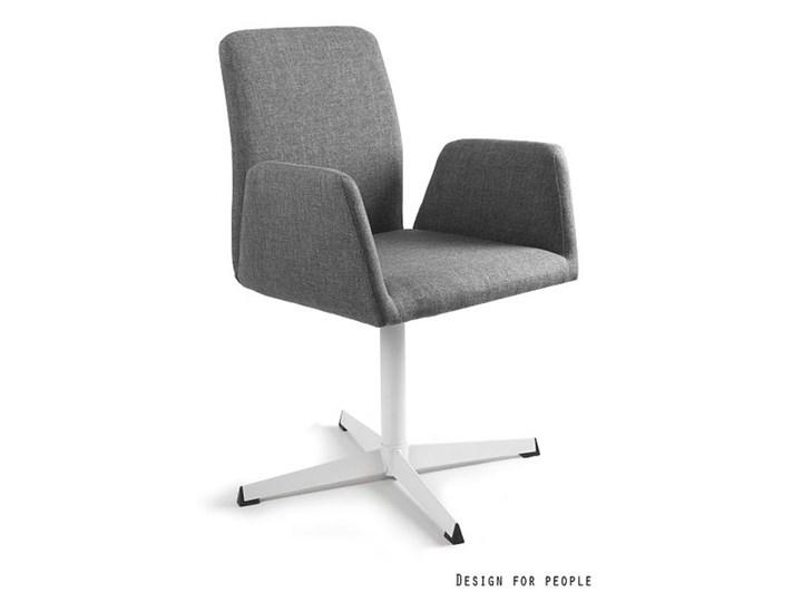 Fotel biurowy tapicerowany Brava kolor Pomieszczenie Biuro i pracownia Tkanina Fotel konferencyjny Wysokość 88 cm Kategoria Fotele do salonu
