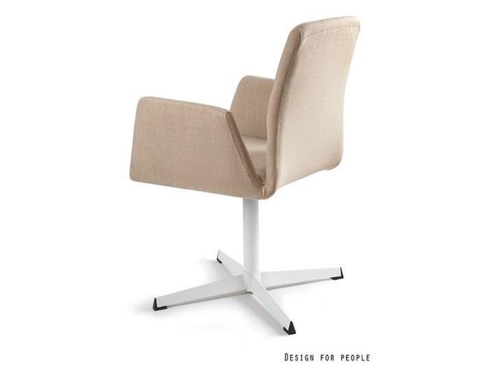 Fotel biurowy tapicerowany Brava kolor Wysokość 88 cm Tkanina Fotel konferencyjny Kategoria Fotele do salonu Pomieszczenie Biuro i pracownia