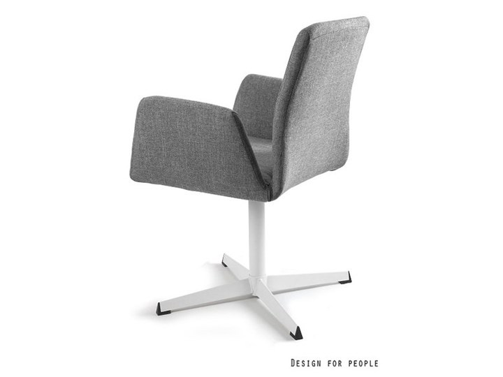 Fotel biurowy tapicerowany Brava kolor Pomieszczenie Biuro i pracownia Fotel konferencyjny Tkanina Wysokość 88 cm Kategoria Fotele do salonu