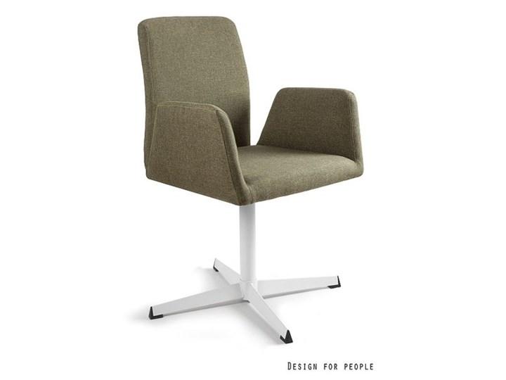Fotel biurowy tapicerowany Brava kolor Tkanina Wysokość 88 cm Fotel konferencyjny Kategoria Fotele do salonu Pomieszczenie Biuro i pracownia