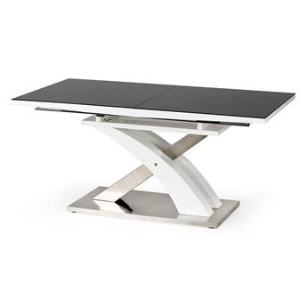 Czarny stół Sandor 2 na designerskiej nodze