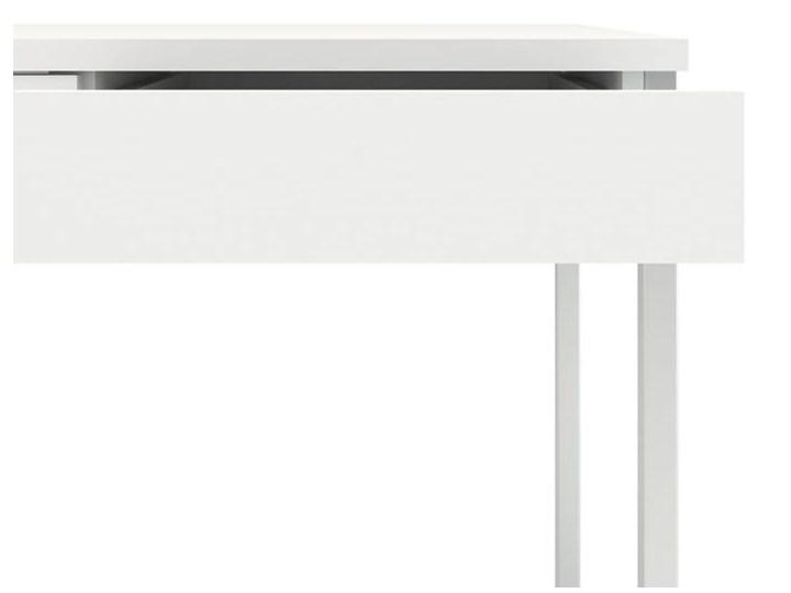 Biurko Function 3s biały Głębokość 52 cm Szerokość 126 cm Kategoria Biurka