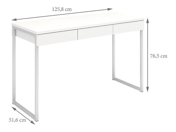 Biurko Function 3s biały Szerokość 126 cm Głębokość 52 cm Kategoria Biurka