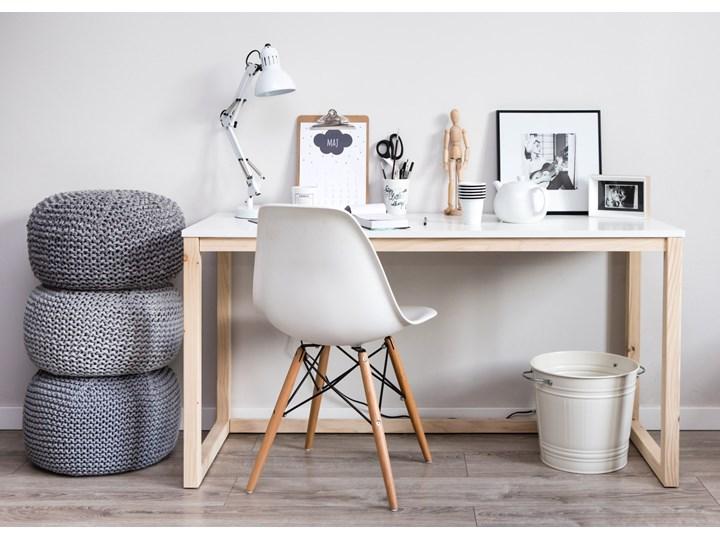 Nowoczesne biurko DES3 w stylu skandynawskim Drewno Szerokość 100 cm Styl Nowoczesny Głębokość 66 cm Sosna Kategoria Biurka