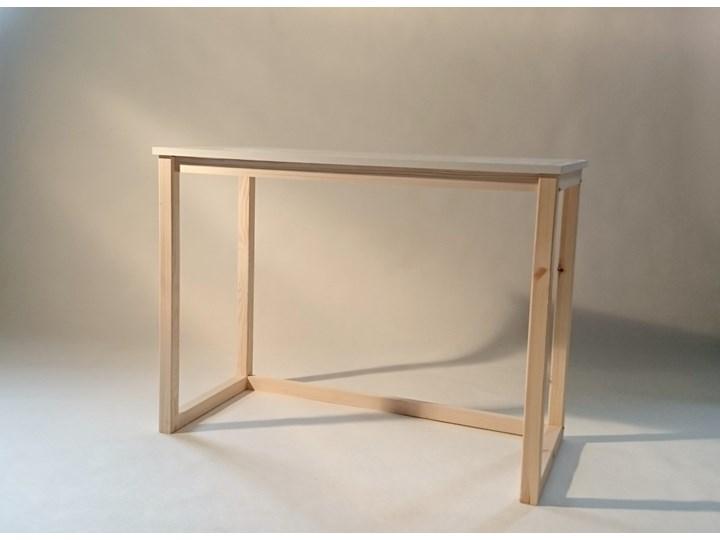 Nowoczesne biurko DES3 w stylu skandynawskim Głębokość 66 cm Sosna Drewno Szerokość 100 cm Kategoria Biurka
