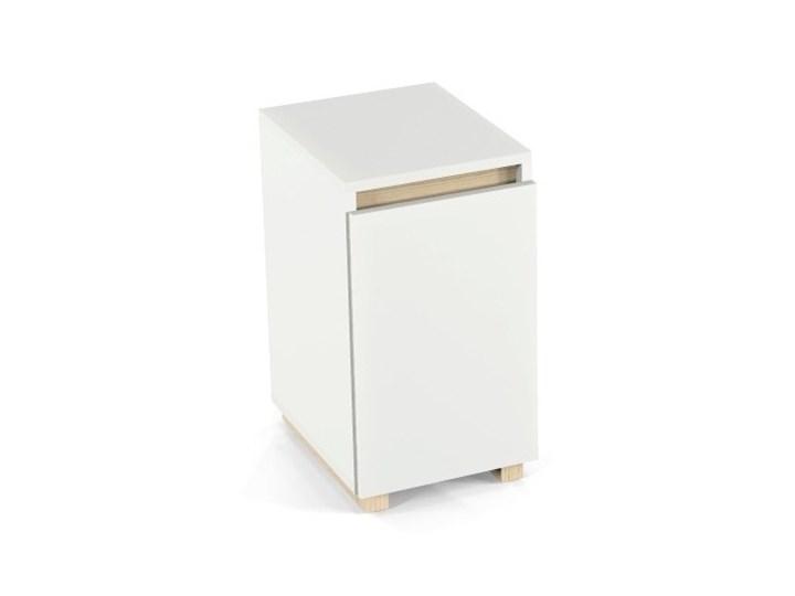 Nowoczesne biurko DES3 w stylu skandynawskim Głębokość 66 cm Sosna Drewno Szerokość 100 cm Styl Nowoczesny