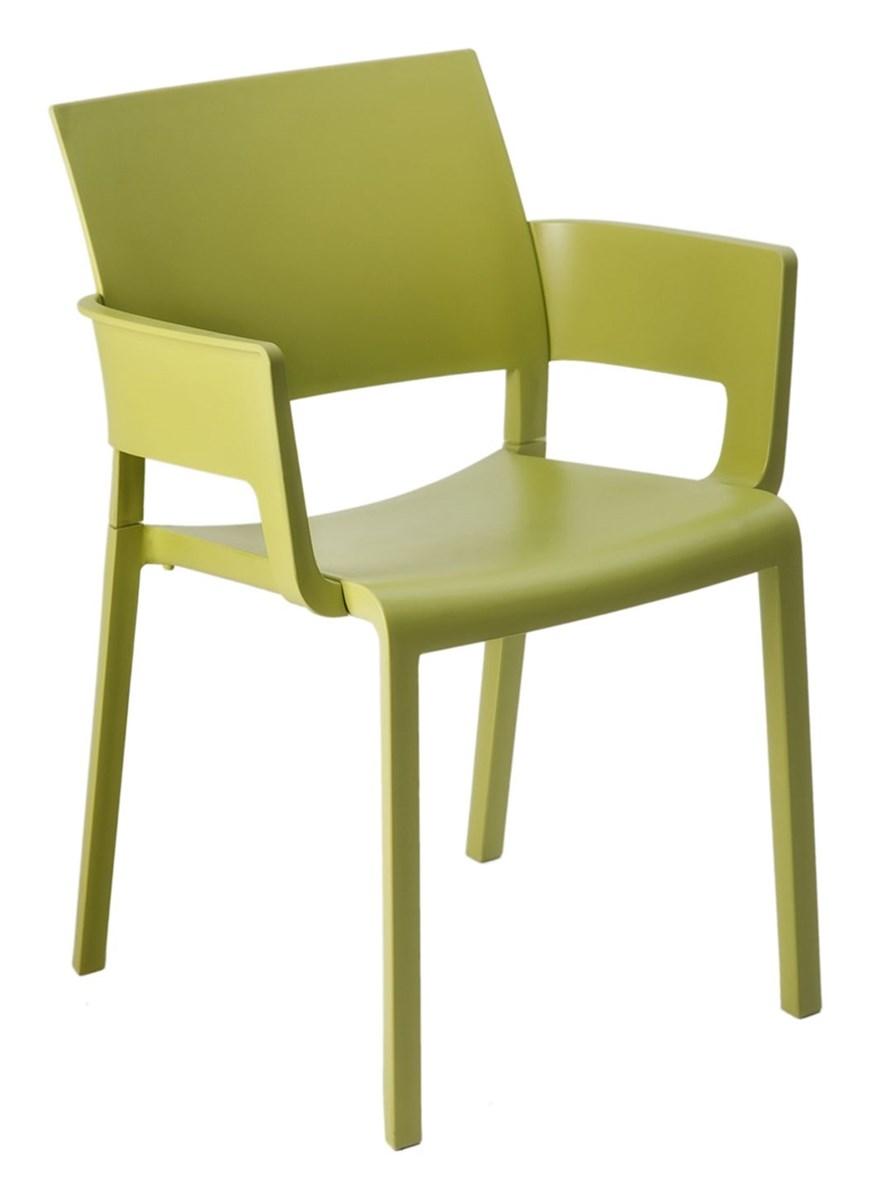 Krzesło Do Kawiarni Fiona Z Podłokietnikami