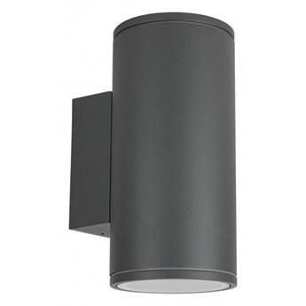 ADELA MIDI kinkiet 2 x 35W GU10 metalowy zewnętrzny lampa ścienna elewacyjna na balkon taras tuba SUMA M1457 DG