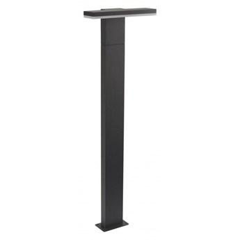 FLER lampa stojąca 1 x 10W LED słupek ogrodowy nowoczesny szary minimalistyczny SUMA 17602-780 DG