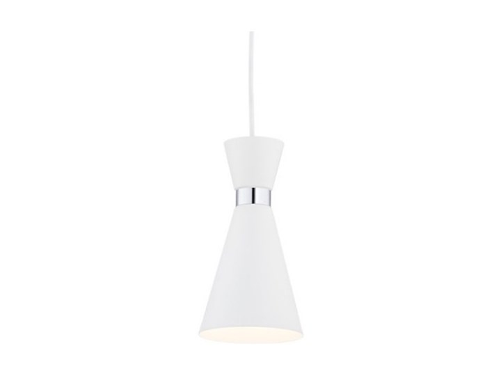 Oasis Lampa Wisząca 1 X 15w E27 Sufitowa Zwis Nowoczesna Biała