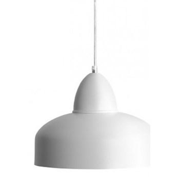 COMO WHITE  lampa wisząca 1 x 60W E27 zwis skandynawska metalowa nowoczesna biała ALDEX 946G