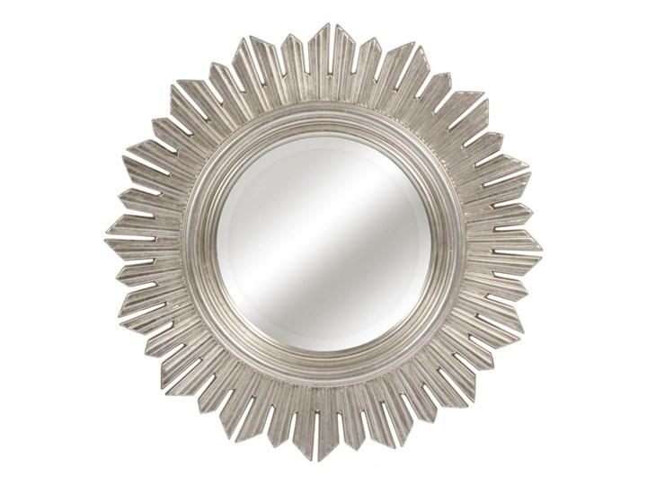 LUSTRO NIKE szampańskie srebro okrągłe FI 61 Ścienne Kolor Srebrny