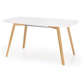 Rozkładany stół do jadalni z lakierowanym blatem Kajetan 135