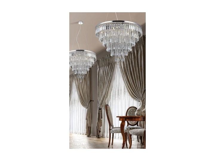 KALABRIA XL PENDANT Lampa LED Metal Kolor Srebrny Kryształ Lampa z kryształkami Kategoria Lampy wiszące