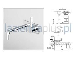 Bateria umywalkowa 2-otworowa Zucchetti Pan ZP6032