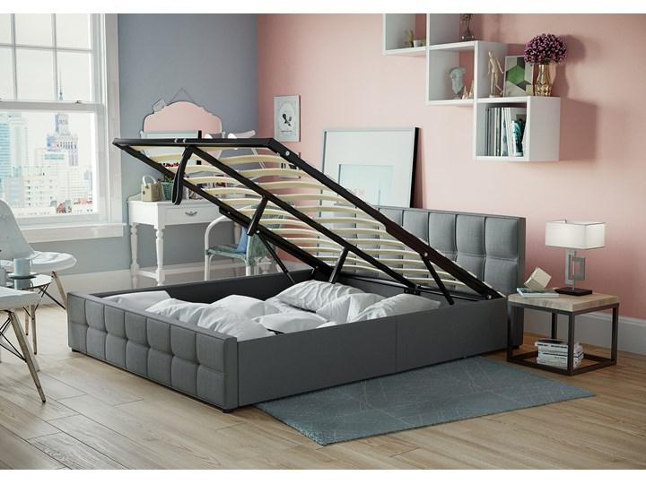 łóżko 180x200 Tapicerowane Do Sypialni Sfg004 Szare
