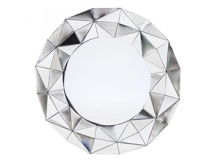 Lustro Dekoracyjne Okrągłe Viola 98x98x5 Cm Lustra Do