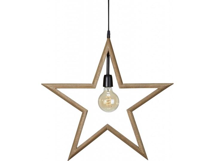 Wisząca lampa gwiazda 59 cm z żarówką - PR Home