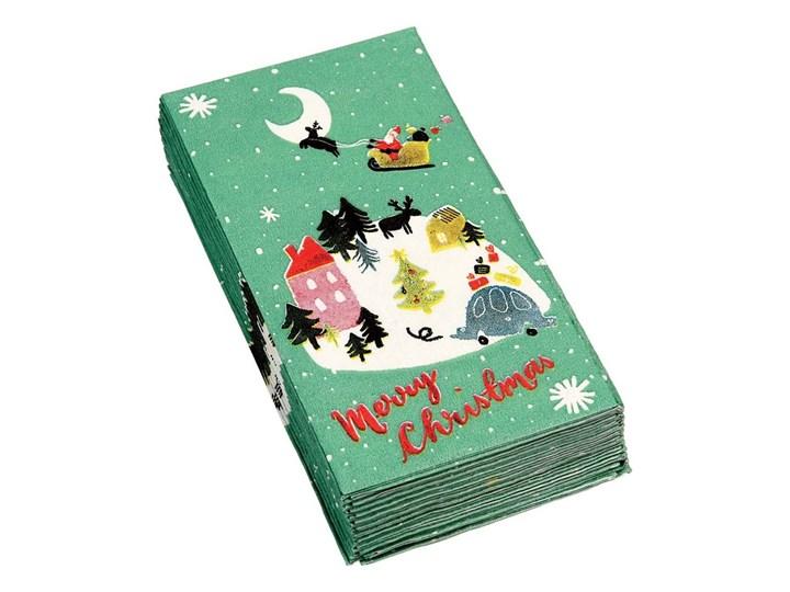 Zestaw 12 chusteczek higienicznych Rex London Christmas Wonderland Dekoracyjne Świąteczne