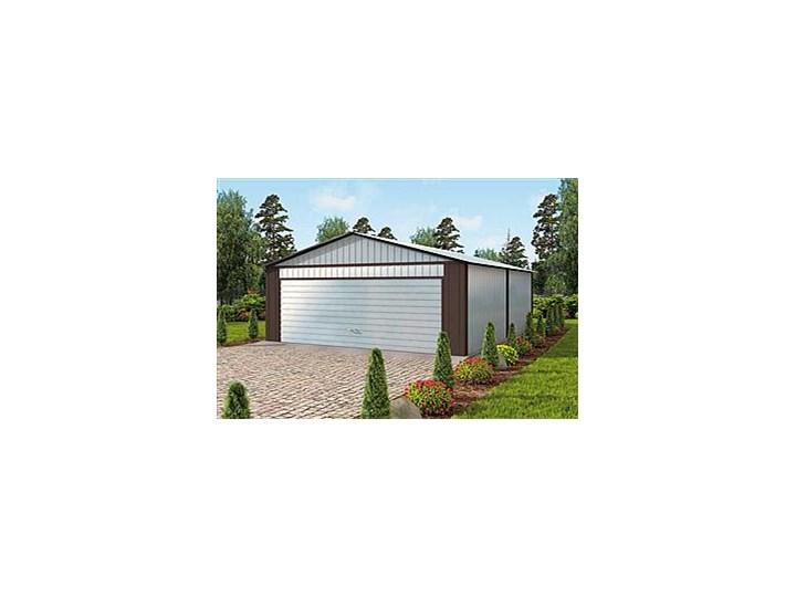 Gb22 Garaż Blaszany Dwustanowiskowy Projekty Garaży I Budynków