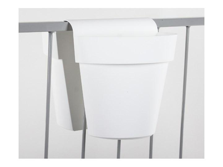 Doniczka Be Up 33x2525 Cm Biały Donice Ogrodowe