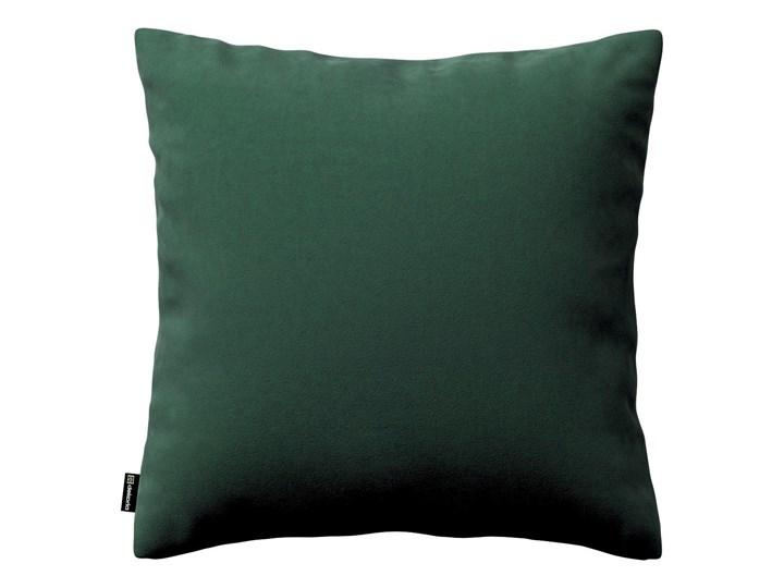 Dekoria Poszewka Kinga na poduszkę, ciemny zielony, 43 × 43 cm, Velvet