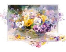 Kwiaty (LM) - reprodukcja