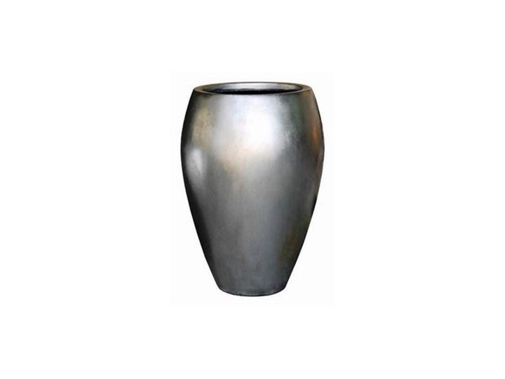 Donica Metalic Wysoka śr 355cm Srebrna