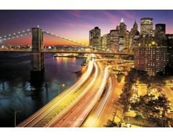 Światła Nowego Jorku - fototapeta