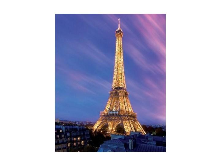 Wieża Eiffla O Zmroku Paryż Plakat