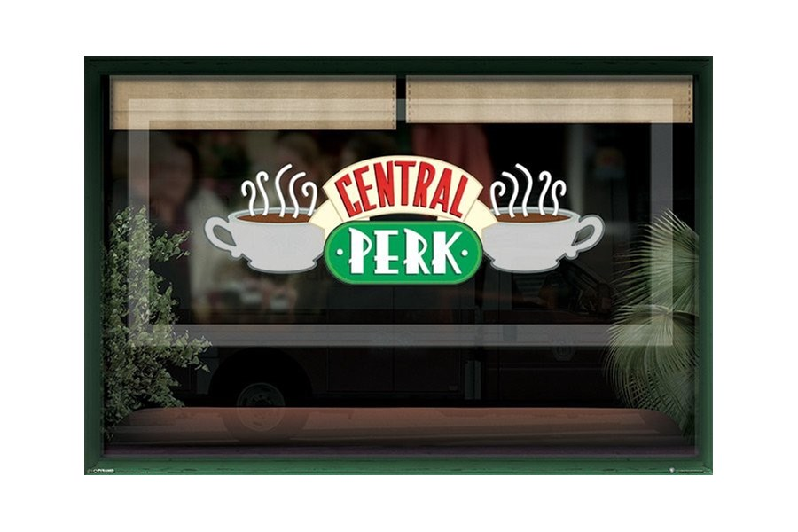 1a9a53b0f1f2 Friends Przyjaciele Kawiarnia Central Perk - plakat - Plakaty - zdjęcia