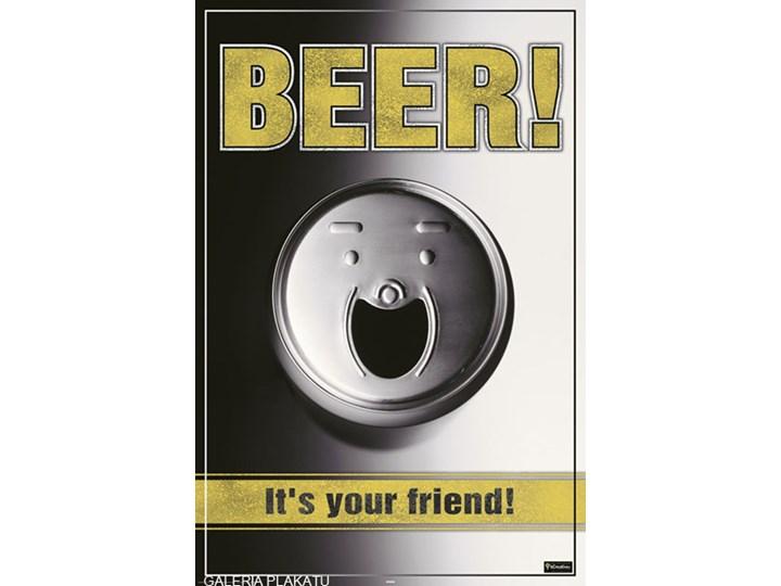 Piwo Jest Twoim Przyjacielem Plakat