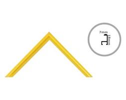 Rama żółta aluminium 91,5x61 cm Ramy 61x91,5 cm