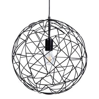 Lampa wisząca czarna Tommaso kod: 7105279045035