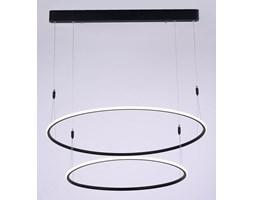 MCODO ::  Designerska lampa led MILANO 2 czarna 75W z ciepłą barwą 3000K Nowość