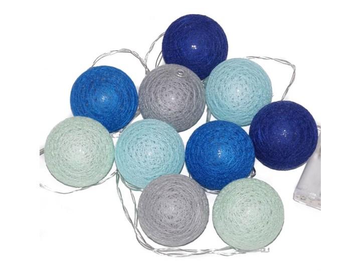 Cotton Balls świecące Kule 10 Kul Lampki Led 6cm