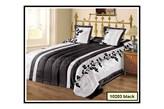 Komfortowa narzuta na łóżko Black Elana 220x240