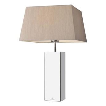 Lampa stołowa PRAG prostokątna srebrna 96246 Villeroy&Boch 96246
