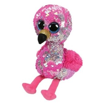 Maskotka TY INC Beanie Boos Pinky Flaming 15cm