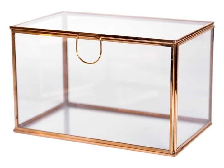 Pudełko BBhome Jules Gold 16x11x9cm