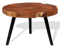 Vidaxl Stolik Kawowy Plaster Drewna Akacjowego 55 60 X 40 Cm
