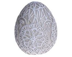 Jajko beżowe koronka