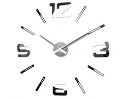 Duży zegar DIY Admirable Lustro 100-130cm